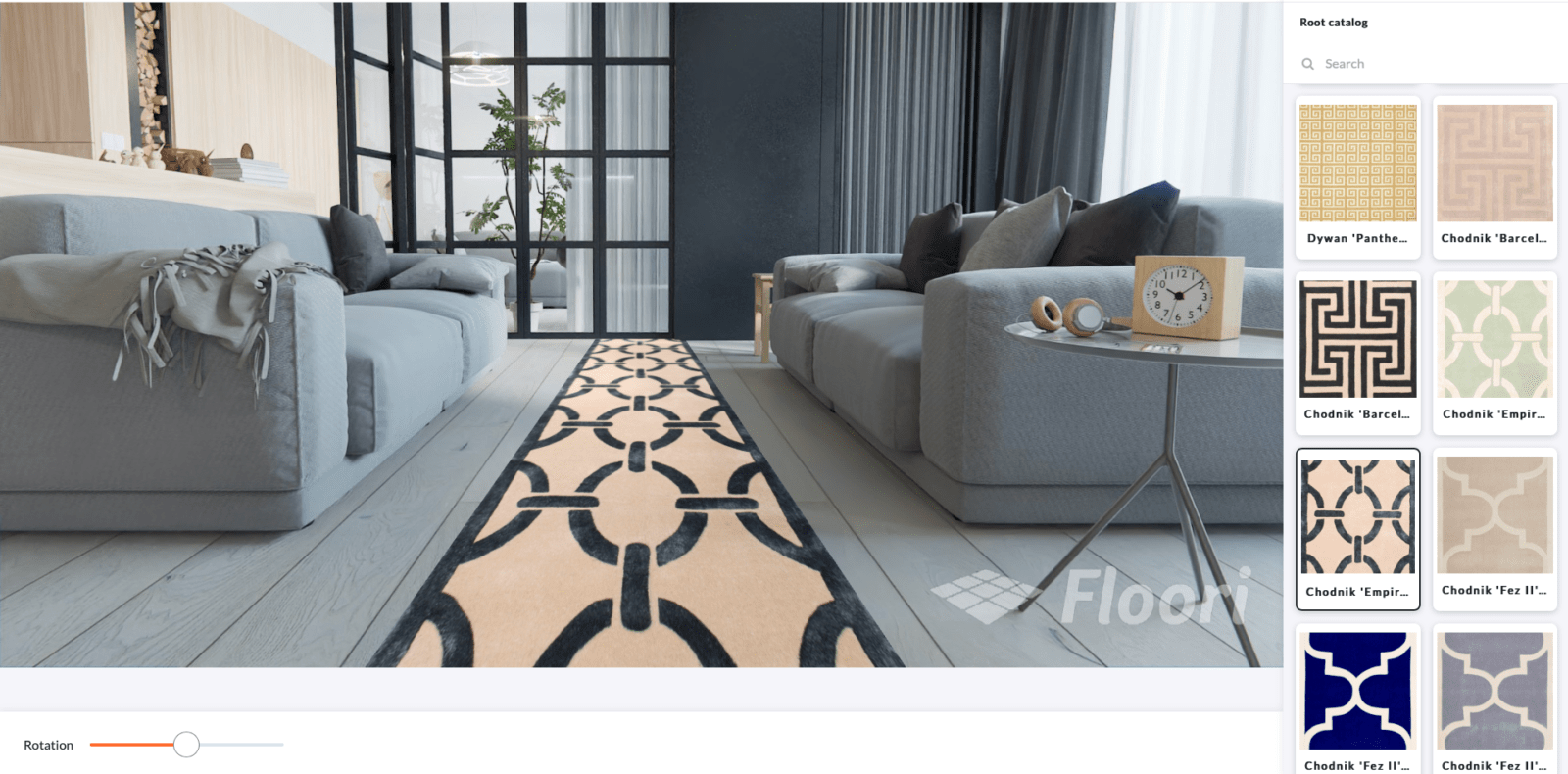 floori lite rug sample